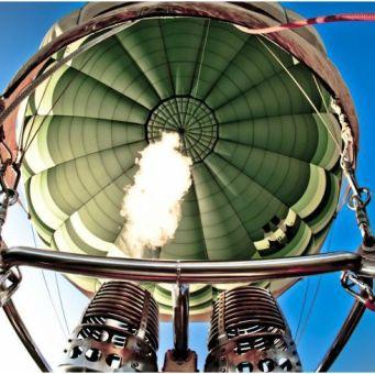 inside balloon