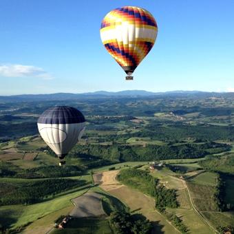 Italien-Toskana-Ballonfahrten