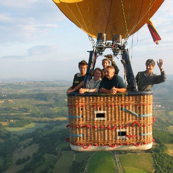 Testimonials Archive » TUSCANY BALLOONING, Hot air Ballooning in