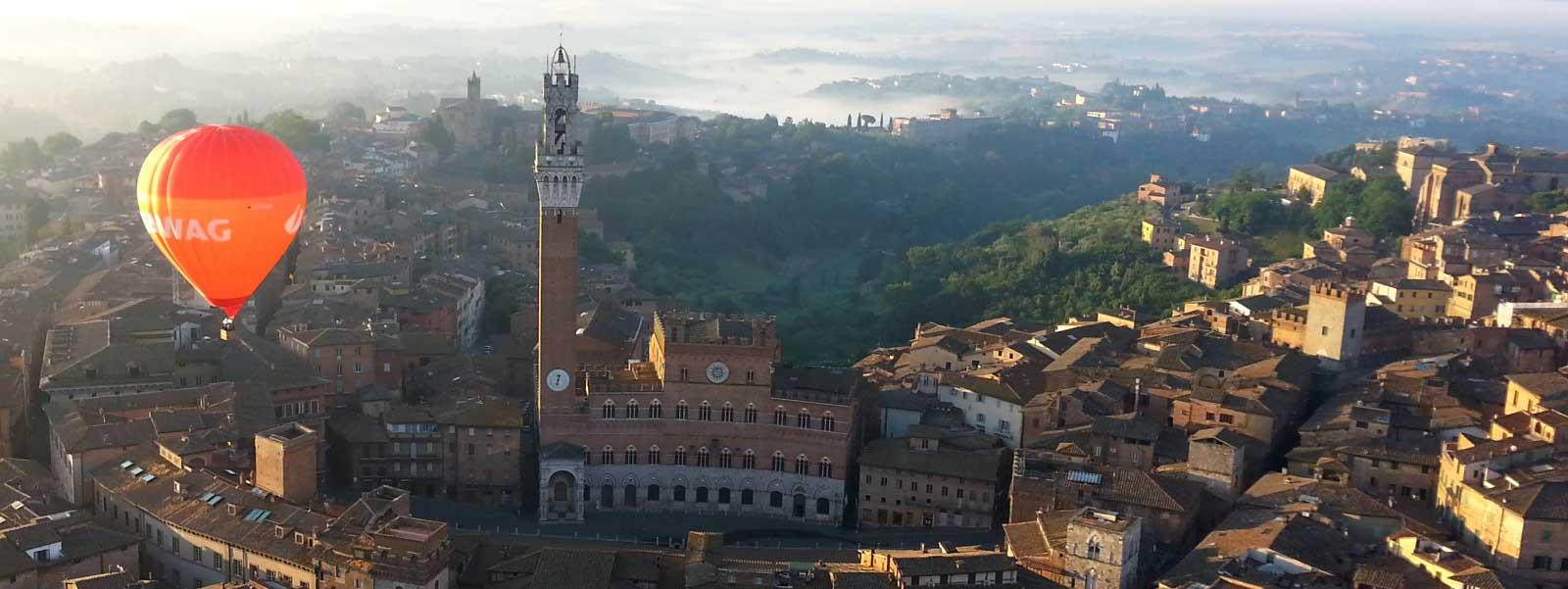 Italian Florence: TUSCANY BALLOONING, Hot Air Balloon Flights In Tuscany
